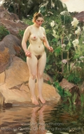 Archipelago Flower painting reproduction, Anders Zorn