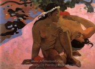 Are You Jealous? (Aha oe feii) painting reproduction, Paul Gauguin