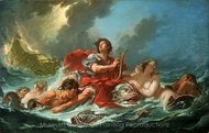 Arion on the Dolphin painting reproduction, Francois Boucher