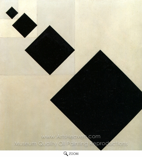 Theo Van Doesburg, Arithmetic Composition oil painting reproduction