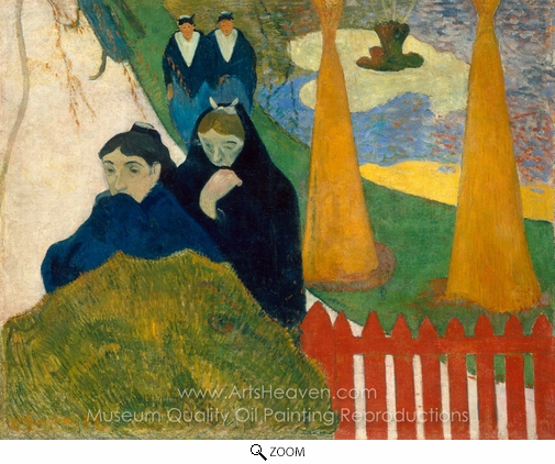 Paul Gauguin, Arles (Mistral) oil painting reproduction