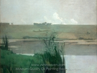 Arques-la-Bataille painting reproduction, John Henri Twachtman