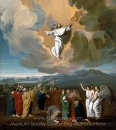 Ascension painting reproduction, John Singleton Copley