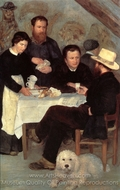 At the Inn of Mother Anthony painting reproduction, Pierre-Auguste Renoir