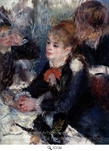 Pierre-Auguste Renoir, At the Milliner's oil painting reproduction