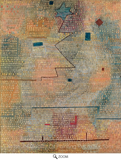 Paul Klee, Aufgehender Stern oil painting reproduction