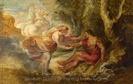 Aurora Abducting Cephalus painting reproduction, Peter Paul Rubens