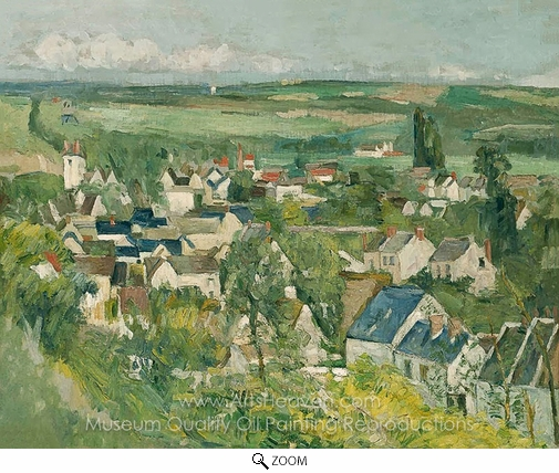 Paul Cézanne, Auvers Sur Oise oil painting reproduction