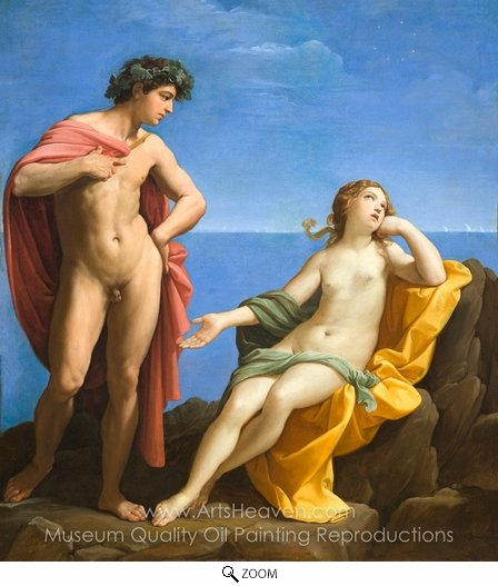 Guido Reni, Bacchus and Ariadne oil painting reproduction