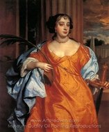 Barbara Villiers, Duchess of Cleveland painting reproduction, Sir Peter Lely
