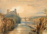 Barnard Castle painting reproduction, Joseph M. W. Turner