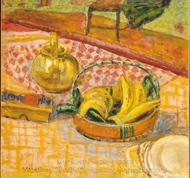 Basket of Bananas painting reproduction, Pierre Bonnard