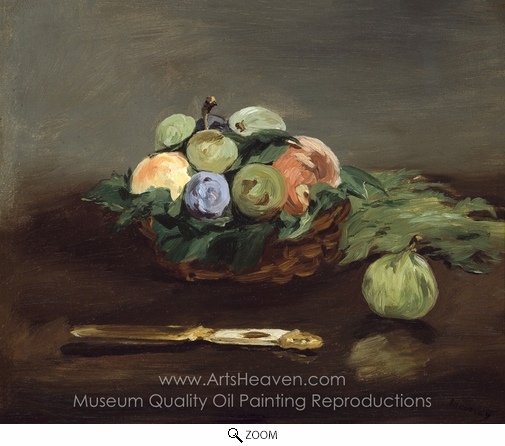 Édouard Manet, Basket of Fruit oil painting reproduction