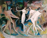 Beauties Fancy painting reproduction, Alice Bailly
