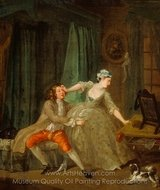 Before painting reproduction, William Hogarth