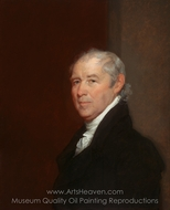 Benjamin Tappan painting reproduction, Gilbert Stuart