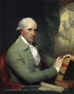 Benjamin West painting reproduction, Gilbert Stuart