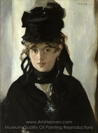 Berthe Morisot painting reproduction, �douard Manet