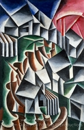 Birsk painting reproduction, Liubov Popova
