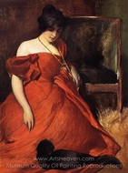 Black and Red painting reproduction, John White Alexander