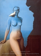 Black Magic painting reproduction, Rene Magritte (inspired by)