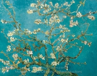 Blossoming Almond Tree painting reproduction, Vincent Van Gogh