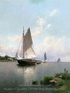 Blue Point, Long Island painting reproduction, Alfred Thompson Bricher