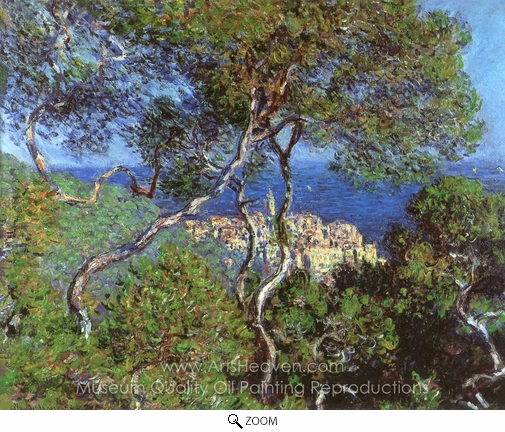 Claude Monet, Bordighera oil painting reproduction