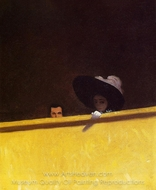Box Seats at the Theater painting reproduction, Felix Vallotton
