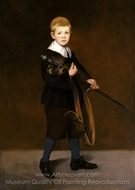 Boy with a Sword painting reproduction, �douard Manet