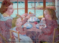 Breakfast painting reproduction, Maurice Denis