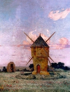 Brittany Near Pulis painting reproduction, Ferdinand Du Puigaudeau