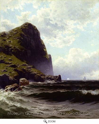 Alfred Thompson Bricher, Brundith Head, Grand Manan oil painting reproduction