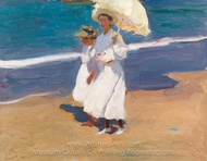 By the Seaside painting reproduction, Joaquin Sorolla