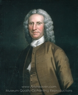 Cadwallader Colden painting reproduction, John Wollaston