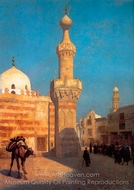 Cairo painting reproduction, Jean-Leon Gerome