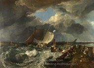 Calais Pier painting reproduction, Joseph M. W. Turner