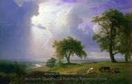 California Spring painting reproduction, Albert Bierstadt