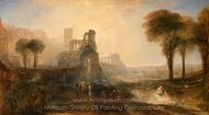 Caligula's Palace and Bridge painting reproduction, Joseph M. W. Turner