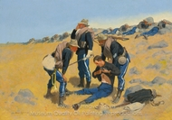 Call the Doctor painting reproduction, Frederic Remington