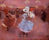 Can-Can Dancers painting reproduction, Jean-Louis Forain