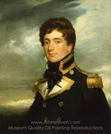 Captain Frederick William Beechey painting reproduction, George Duncan Beechey