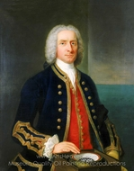 Captain Henry Osborn painting reproduction, Claude Arnulphy