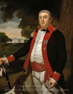 Captain John Pratt painting reproduction, Ralph Earl