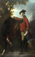Captain Robert Orme painting reproduction, Sir Joshua Reynolds
