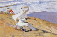 Capturing the Moment painting reproduction, Joaquin Sorolla