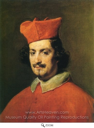 Diego Velazquez, Cardinal Camillo Astalli oil painting reproduction