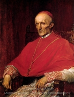 Cardinal Manning painting reproduction, George Frederic Watts