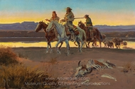 Carson's Men painting reproduction, Charles Marion Russell