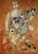 Catax painting reproduction, Francis Picabia